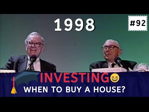 Rich yes, Good guys?? absolutely NoT Warren Buffett insight on when is the best time to buy a house.