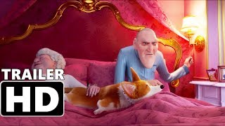 THE QUEEN'S CORGI - Official Teaser Trailer (2018) Animated Movie