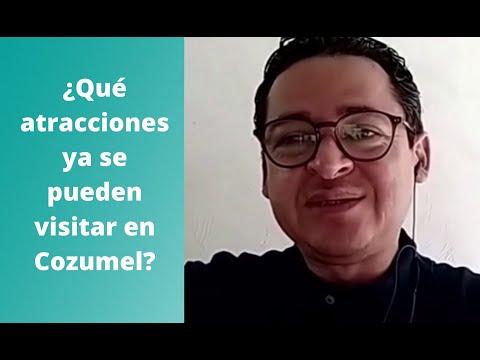 ¿Qué atractivos ya se pueden visitar en Cozumel?