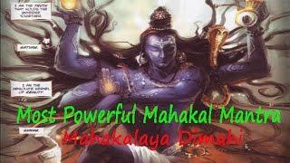 Victory Over Enemies | Most Powerful Mahakal Mantra| Mahakalaya Dimahi