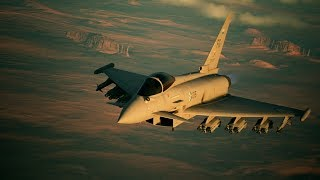 「ACE COMBAT 7: SKIES UNKNOWN」Game Feature Briefing #4 Aircraft 「Typhoon」