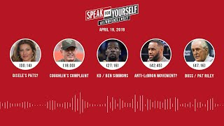 SPEAK FOR YOURSELF Audio Podcast(4.19.19) with Marcellus Wiley, Jason Whitlock | SPEAK FOR YOURSELF