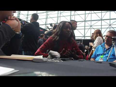 Anna Diop talks Titans at NYCC 2018