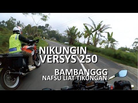 NIKUNG DI GUCI TEGAL | BANYAK TIKUNGAN TERJAL | Touring Bareng Kawasaki Part 4