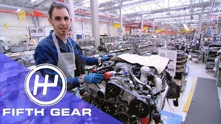 Fifth Gear Assembling A Bentley Engine смотреть