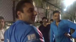 Salman Khan's Brother & BOBBY DEOL HIT Sixes in CRICKET !