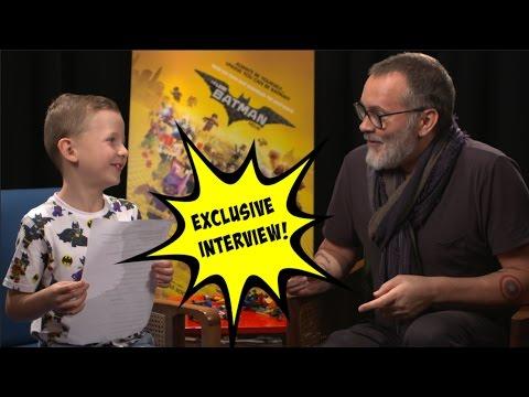 Chris McKay Faces Toughest Interview Yet From Biggest Little DC Fan | THE LEGO BATMAN MOVIE