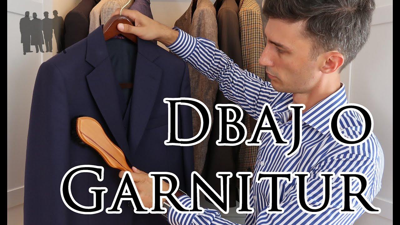 b19309a0c9123 Jak dbać o garnitur i marynarkę - Czas Gentlemanów - YouTube