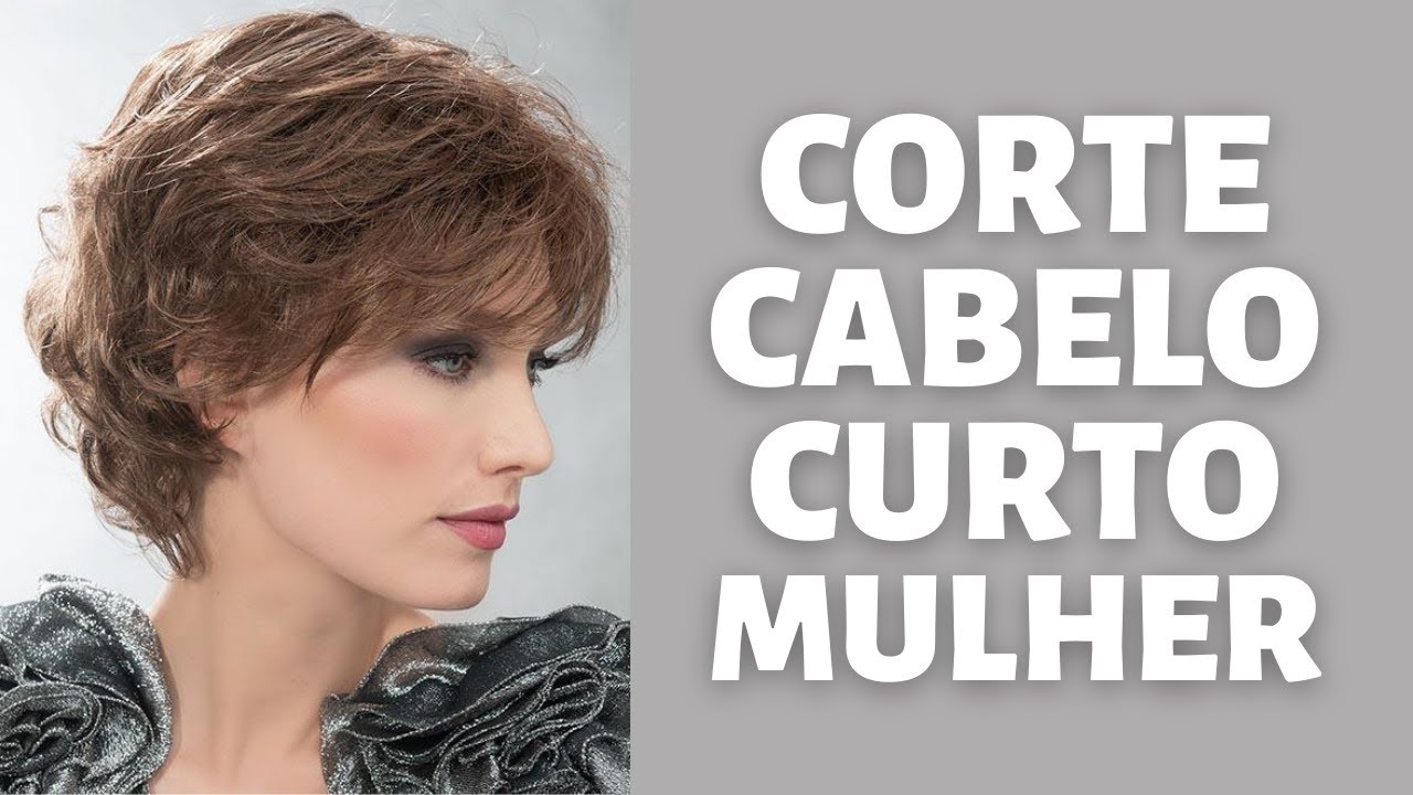 60+ CORTE CABELO CURTO MULHER - TENDÊNCIA CORTE DE CABELO FEMININO CURTO PARA DAR VOLUME - MODA MODA