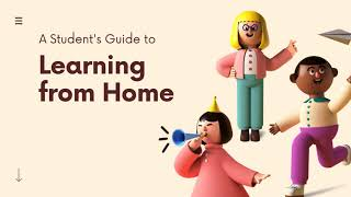 Learning from home - BICS - Apprendre à la maison