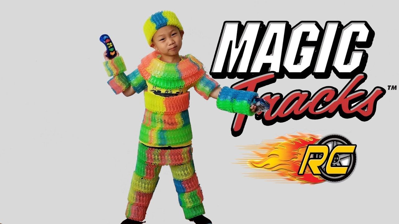 Magic Tracks Rc Remote Control Toy Cars Unboxing As Seen On Tv