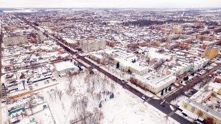 �������� ���� Зимние Прилуки с высоты птичьего полета. ������