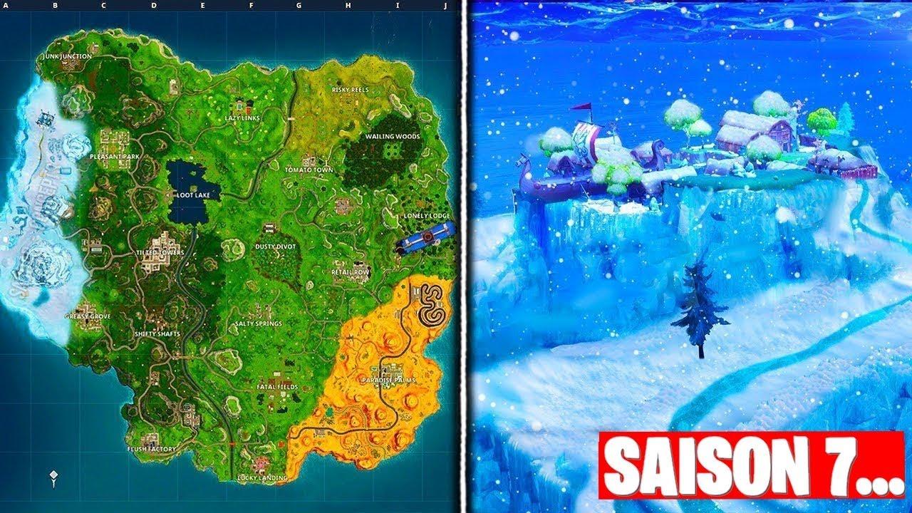 cet evenement va transformer la map saison 7 de fortnite - evenement fortnite saison 7