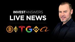 Live News: BTC, ETH, Crypto Reg, BNB, TSLA, GOOG and Real Estate