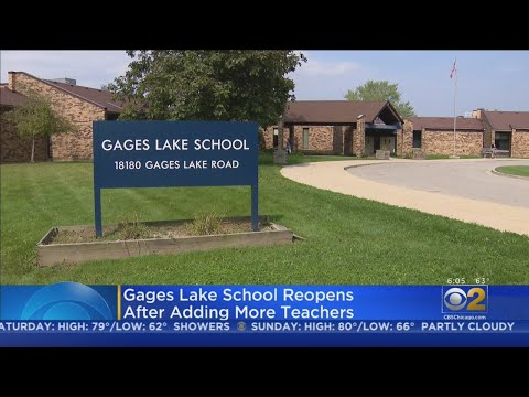 Gages Lake School Reopening After Teacher Shortage