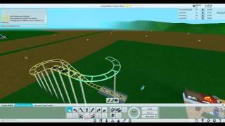 Episode 3 FIRST ROLLER coaster Roblox theme park tycoon
