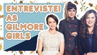 ENTREVISTA com o elenco de GILMORE GIRLS (Rory, Lorelai e Luke)