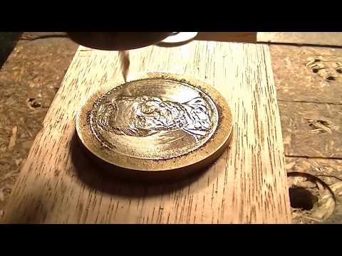 149  How to make a $ Dollar coin $ CNC router