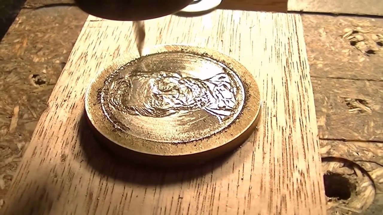 149 how to make a 100 dollar coin cnc router youtube