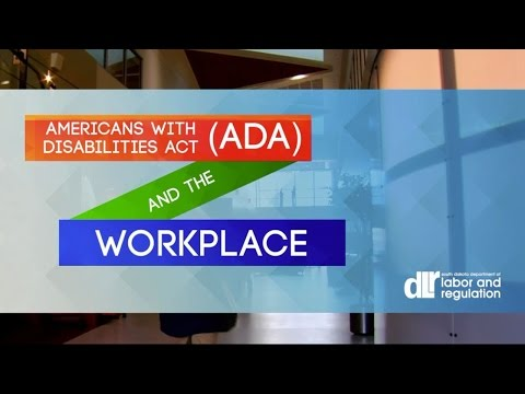 Americans with Disabilities Act (ADA) and the Workplace