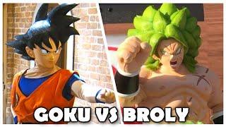 Broly vs Goku (Restaurant) | Dragon Ball Super Broly Movie