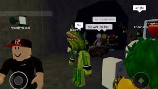 DYING IN ROBLOX CAMPING!