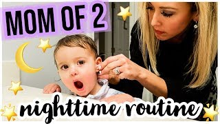 REALISTIC NIGHT TIME ROUTINE 🌟🌙⭐ SAHM MOM OF TWO TODDLERS SPRING 2019 | Brianna K bitsofbri