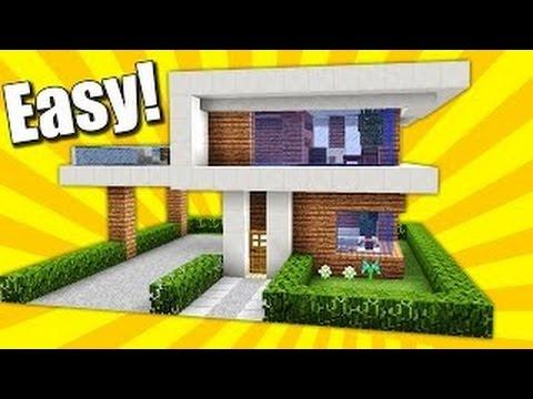 Minecraft hướng dẫn xây nhà biệt thự đẹp-dễ[Phần 1]