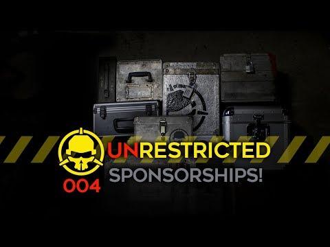 Unrestricted Podcast Ep004 - Sponsorships!