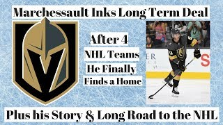 Marchessault Contract + His Long Road to the NHL