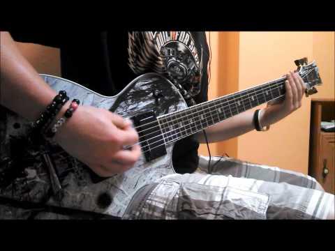 Motionless In White - Black Damask (The Fog) Guitar Cover