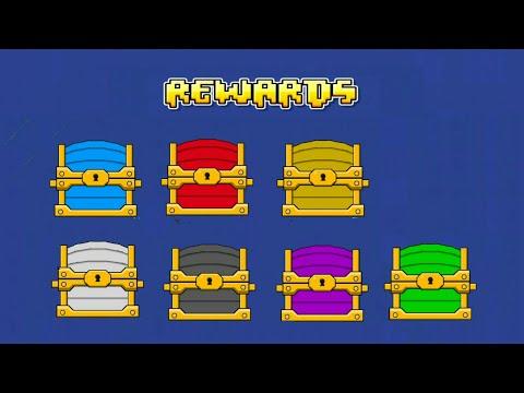 WHAT IS YOUR REWARD ITEM? | Geometry Dash 2.1 : Random Box - Booglee (Chest Opening MiniGame)