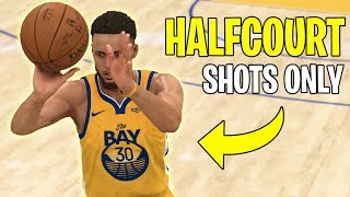 What If You Could Only Shoot Half Courts Shots In The NBA?   NBA 2K20