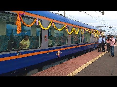 New Vistadome Coach attached to Dadar Madgaon Jan Shatabdi Express | Indian Railways
