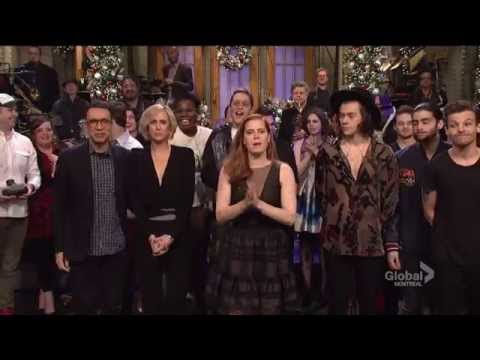 One Direction - SNL (end credits / hug highlight # 3)