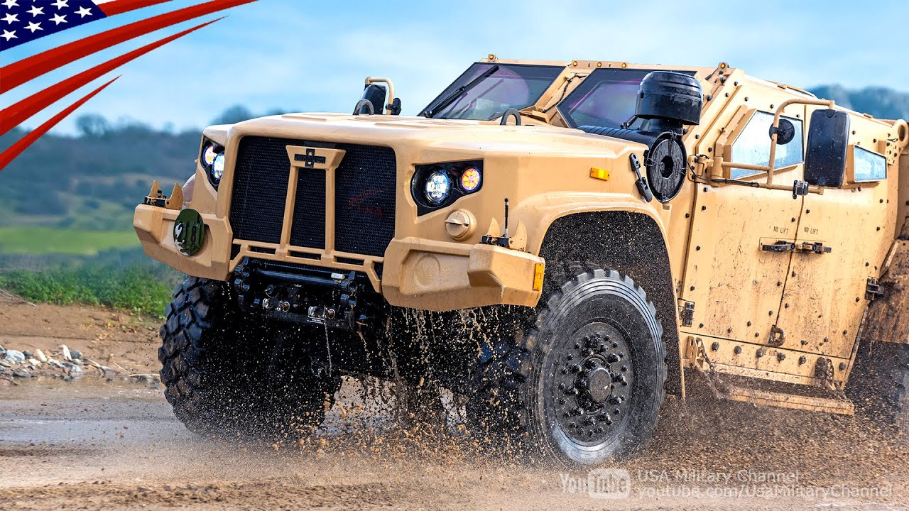 "Awesome Maneuverability ""New JLTV"" Drivers Training"