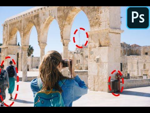 Как УБРАТЬ лишнее на фото в Фотошопе: людей и объекты   Remove Anything From A Photo In Photoshop