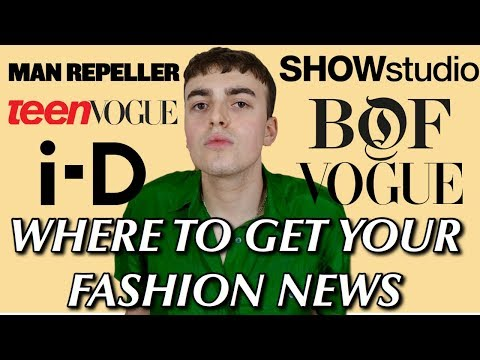 So You Wanna Know How To Learn About The Fashion Industry!?!