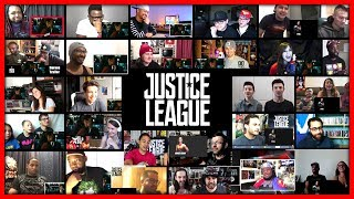 JUSTICE LEAGUE Official Heroes Trailer Reaction Mashup (40 Reactions)