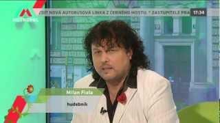 TV METROPOL. Rozhovor 30.03.2012. MILAN FIALA a KAREL GOTT COVER BAND. PRAGUE