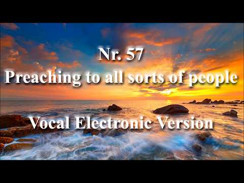 Song Nr 57  Preaching to all Sorts of People  jworg Vocal Electronic Version