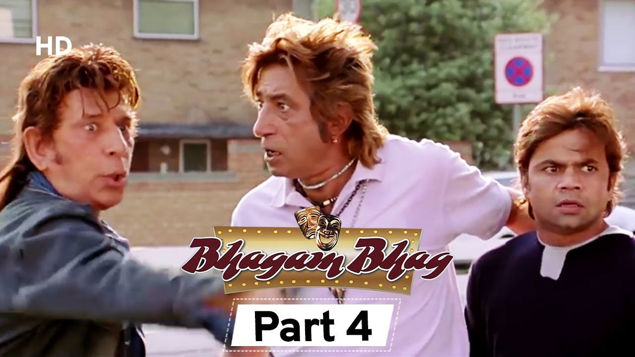 Bhagam Bhag 2006 (HD) - Part 4 - Superhit Comedy Movie - Akshay Kumar -  Paresh Rawal - Rajpal Yadav