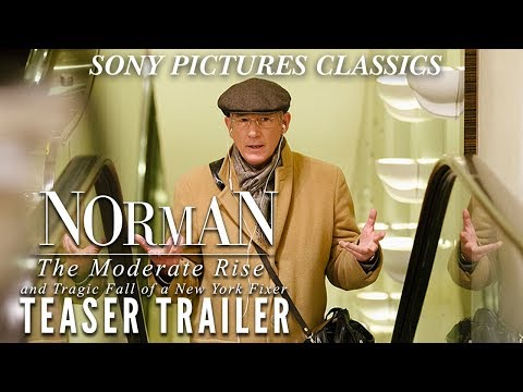 Norman: The Moderate Rise And Tragic Fall Of A New York Fixer - TEASER TRAILER (2016) HD