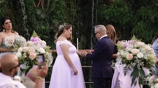 Carla & Jose Magical Wedding Ceremony Video 05-23-21