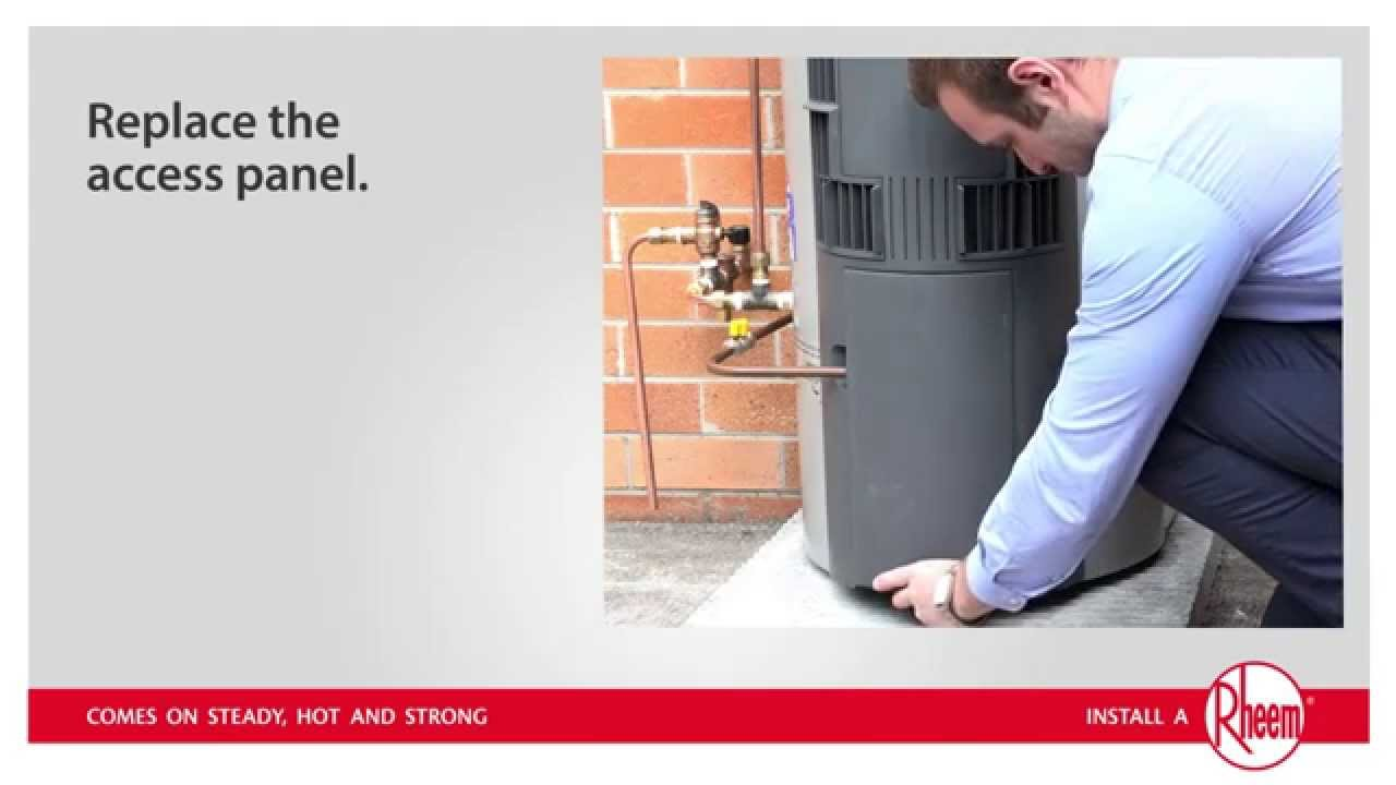 Rheem Hot Water System You Tube 103