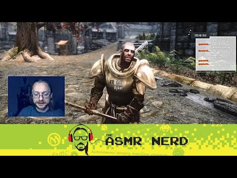 Twitch Archive | ASMR-ish Let's Play Skyrim! | 5 | Wreck-It Rykas