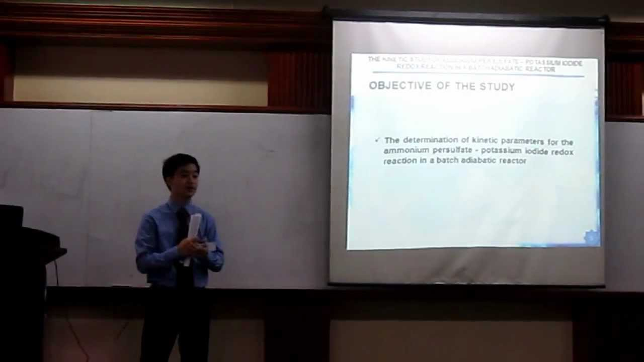 oral presentation for thesis