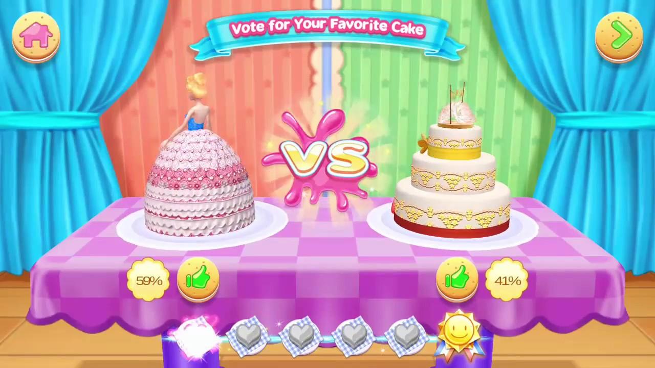 Amazing wedding cake game for bridal shower★Games Cake Compilation★Wedding Cake Design Games