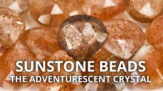 Sunstone Crystal Beads