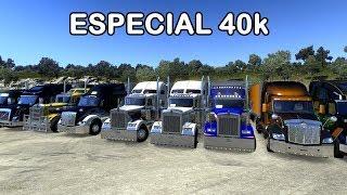 🔴 Convoy Especial 40K con los compas    American Truck Simulator